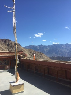 View from the Likir Gompa, Ladakh, India